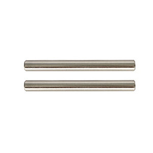 Wickes T Bar Door Handle - Brushed Nickel 115mm Pack of 2