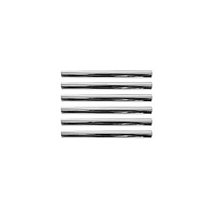 Wickes T Bar Door Handle - Polished Chrome 135mm Pack of 6