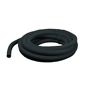 Wickes Corrugated Flexible Conduit - Black 20mm x 5m
