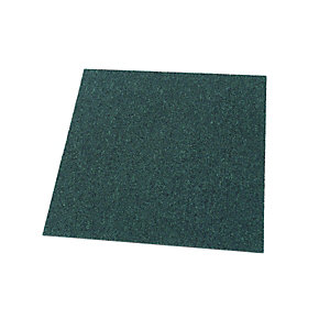 Wickes Carpet Flooring Tile - Dark Green 500 x 500mm