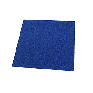 Wickes Carpet Flooring Tile - Electric Blue 500 x 500mm