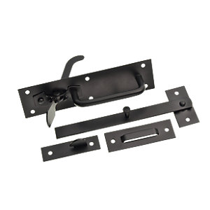 Wickes Suffolk Gate Latch - Black
