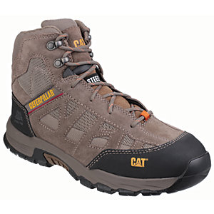 Caterpillar CAT Structure Hiker Safety Boot - Brown