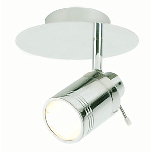 Spa Scorpius Chrome Single Bathroom Spotlight - 35W