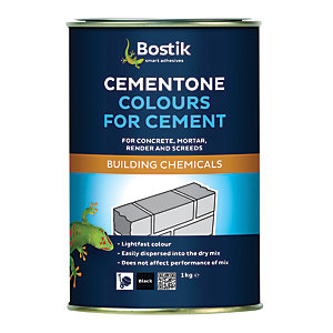 Bostik Cementone Cement & Mortar Dye - Black 1kg