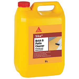 Sika Brick and Patio Acid Based Cleaner - 5L