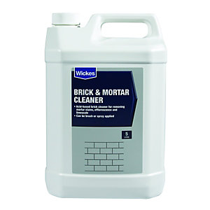 Wickes Brick & Mortar Cleaner - 5L