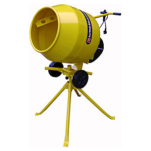 Altrad Belle 130L Portable Electric Cement Mixer - 450W