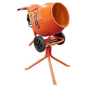 Altrad Belle 150L Portable Electric Cement Mixer - 450W
