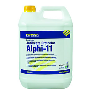 Fernox ALPHI-11 Central Heating System Anti Freeze & Protector - 5L
