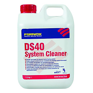 Fernox DS40 Central Heating System Descaler & Cleaner - 1.5kg