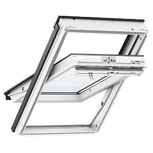 Velux White Painted Centre PivotRoof Window GGL 2070 - 780 x 980mm