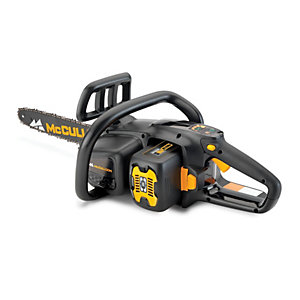 Mcculloch Li 58CS 58V Cordless Chainsaw with Battery and Charger