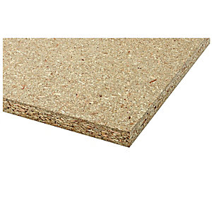 Wickes General Purpose Chipboard 18mm x 1220mm x 2440mm
