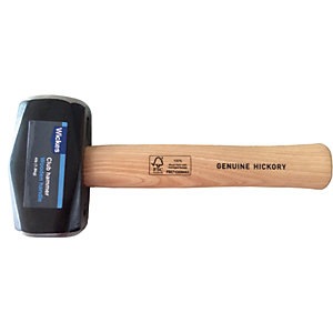 Wickes Hickory Handle Club Hammer 4lb