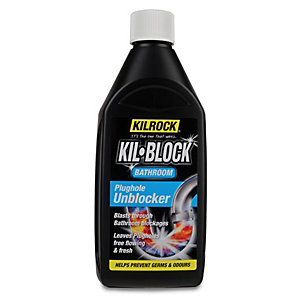 Kilrock Kil-block Bathroom Unblocker - 500ml