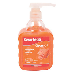 Swaferga Orange Hand Cleanser Pump - 450ml