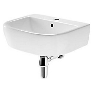 Wickes Galeria 1 Tap Hole Cloakroom Basin - 450 x 370 mm