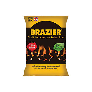 Brazier Smokeless Coal - 10kg Bag