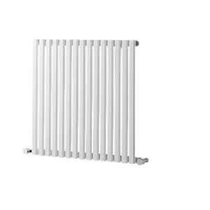 Wickes Grace Multi-Column Designer Radiator - White 600 x 590 mm