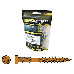 Hulk Composite Decking Screws Apex Himalayan Cedar Pk30
