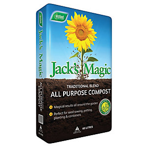 Jacks Magic Traditional Compost - 60 L