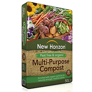 New Horizon Peat-Free Multi-Purpose Compost - 50 L
