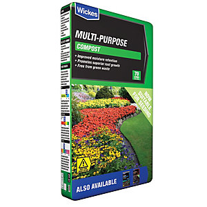 Wickes Multi-Purpose Compost - 70L