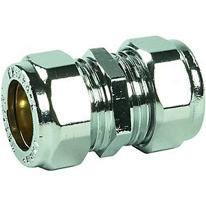 Wickes Compression Straight Coupling - 15mm