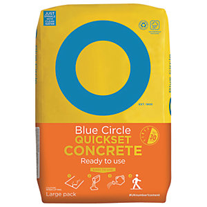 Blue Circle Quick Set Concrete - 20kg