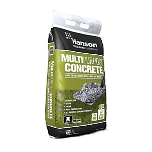 Hanson Multi-Purpose Ready Mixed Concrete Maxi Bag - 20kg