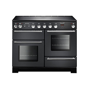 Rangemaster Infusion 110 Induction Range Cooker - Slate with Chrome Trim