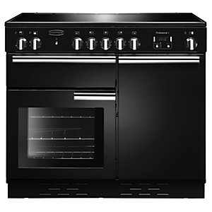 Rangemaster Professional+ 100 Induction Range Cooker - Black Gloss