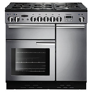 Rangemaster Professional+ 90 Natural Gas Range Cooker - Stainless Steel