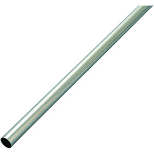 Wickes Copper Pipe Chrome Plate - 15mm x 2m