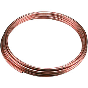 Wickes Microbore Copper Pipe - 10mm x 10m