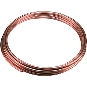 Wickes Microbore Copper Pipe - 8mm x 10m
