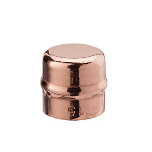 Wickes Solder Ring End Cap - 22mm Pack of 2