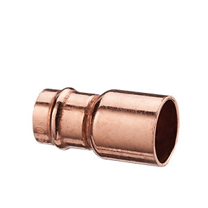 Wickes Solder Ring Fitting Reducer - 15 x 22mm