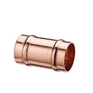 Wickes Solder Ring Slip Coupling - 15mm