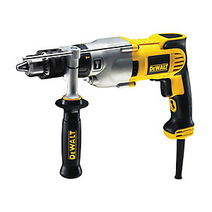 DEWALT D21570K-GB Silver Bullet Corded Diamond Core Drill - 1300W