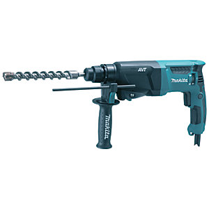 Makita HR2601 SDS+ 2 Function Rotary Hammer Drill 240V - 800W