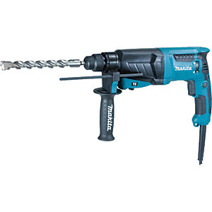 Makita HR2630/2 SDS+ Rotary Hammer Drill - 800W