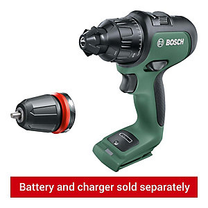 Bosch 18V AdvancedImpact Brushless Combi Drill - Bare