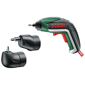 Bosch IXO 3.6V 1.5Ah Li-Ion Cordless Screwdriver Full Version incl. Angle Adapter and Eccentric Adapter