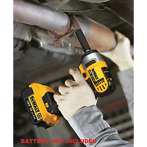DeWalt 18V DCF880M2-GB XR Compact Impact Wrench with 2 x 4.0AH Batteries Charger & Kit Box