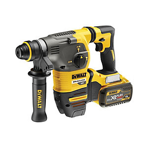 DeWalt DCH333X2-GB 54V Xr Flexvolt Brushless SDS-plus Cordless Hammer Drill with 2 x 9.0AH Batteries
