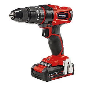 Einhell Power X-Change TE-CD 18/40 Li 18V Combi Drill 2 x 2Ah batteries