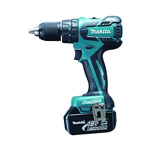 Makita BHP459RFE 18V 2 x 3.0Ah Li-Ion Brushless Combi Drill