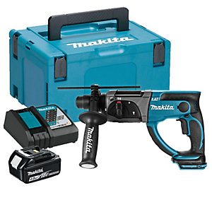 Makita DHR202RM1J 18V SDS+ Hammer Drill 1 X 4Ah Battery